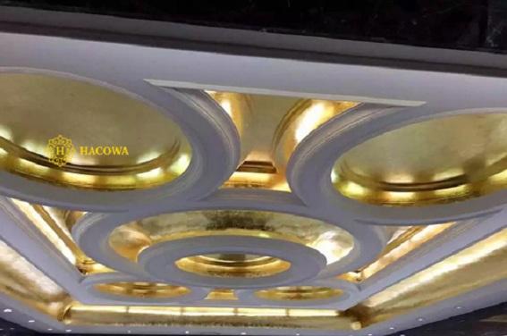 thi công dát vàng nội thất