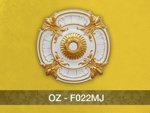 Hoa đèn nhũ vàng F022MJ (660mm)