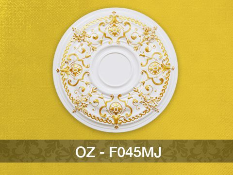Hoa đèn nhũ vàng F045MJ (750mm)