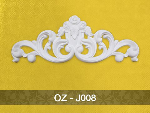 Hoa văn trang trí PU – J008 (910x345x50mm)