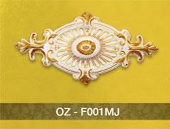 Hoa đèn nhũ vàng F001MJ (750mm)