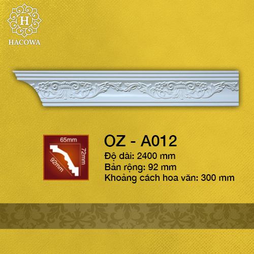 A012 – Phào Hoa Văn PU (2400x32mm)