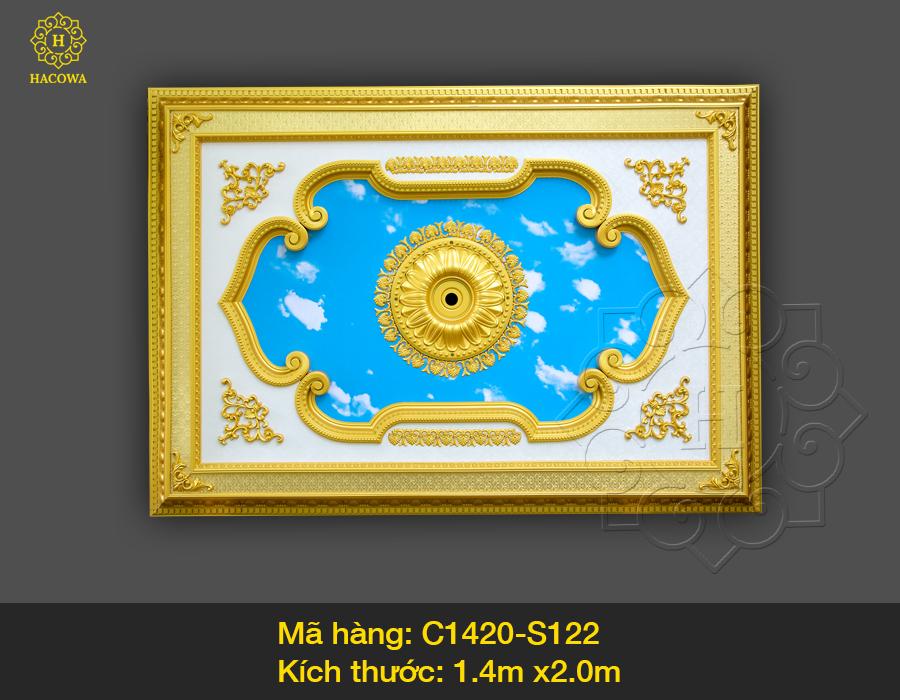 Tấm trần hình chữ nhật – C1420 – S122