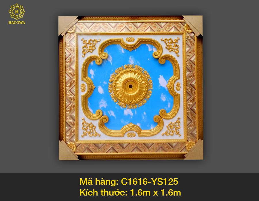 Tấm trần hình vuông – C1616 – YS125