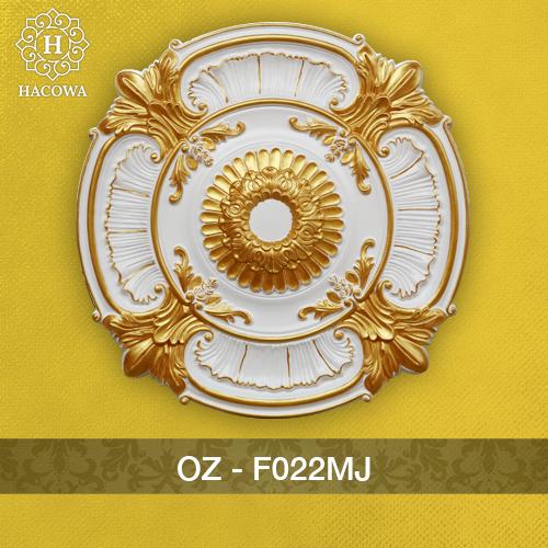 F022MJ – Hoa Đèn Nhũ Vàng