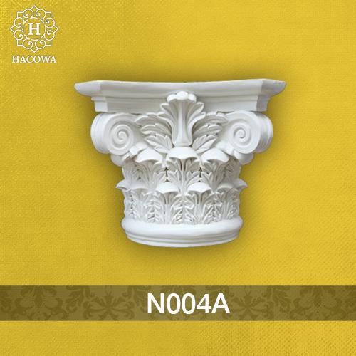 N004A – Đầu cột tròn