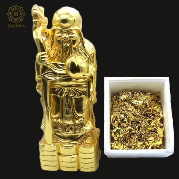 Lá vàng 22K chuyên dát vàng, thiếp vàng tượng phật