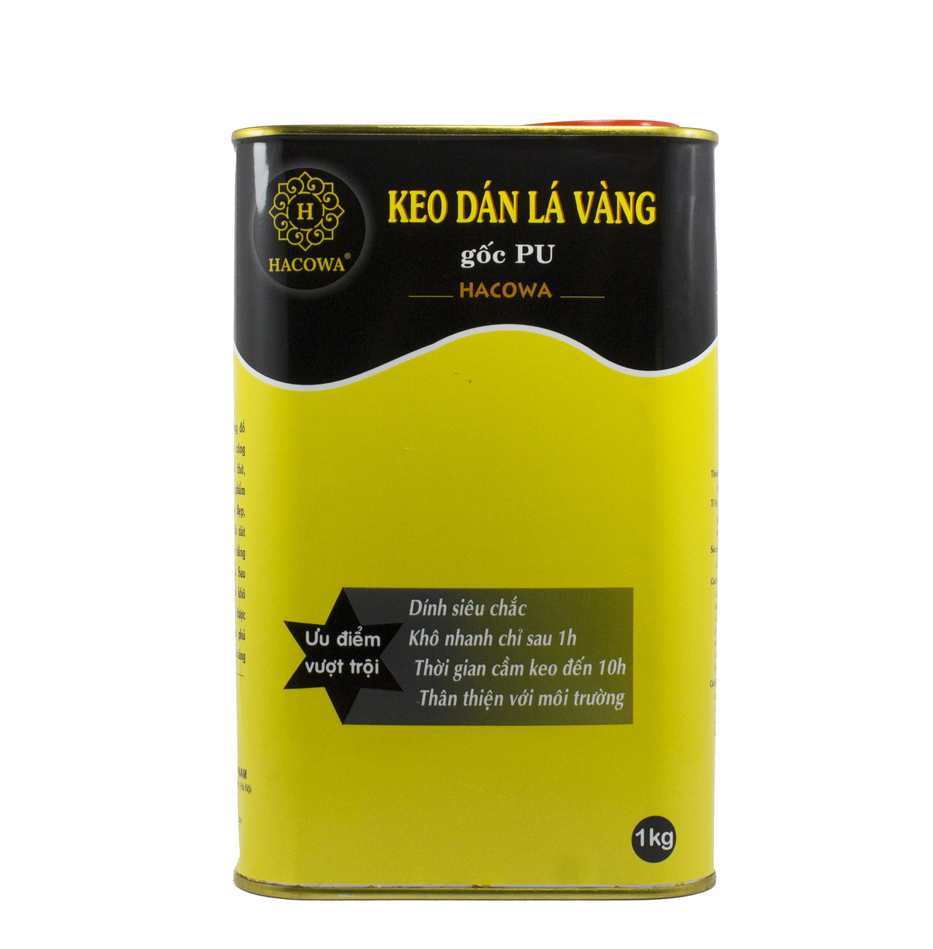 Keo dát vàng gốc PU – nhanh khô (1000ml)