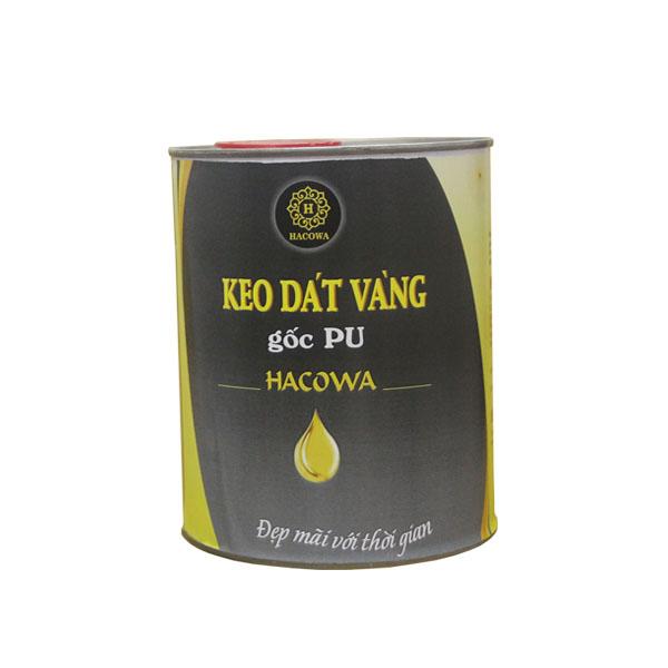 Keo dát vàng gốc PU – siêu bóng  (1l)