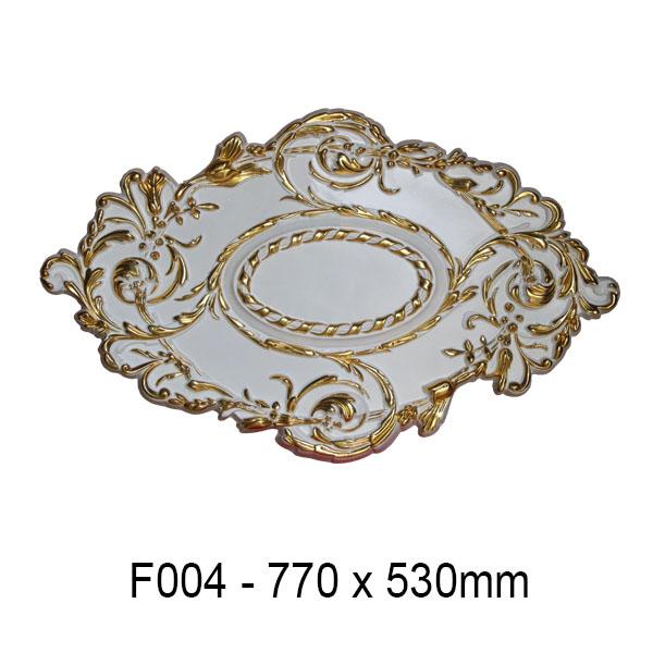 Hoa đèn dát vàng F004
