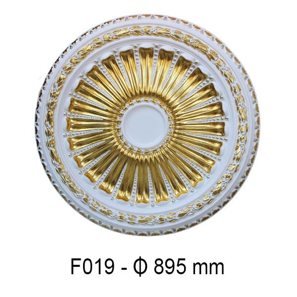 Hoa đèn dát vàng F019