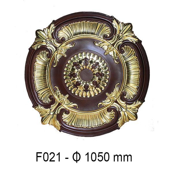 Hoa đèn dát vàng F021