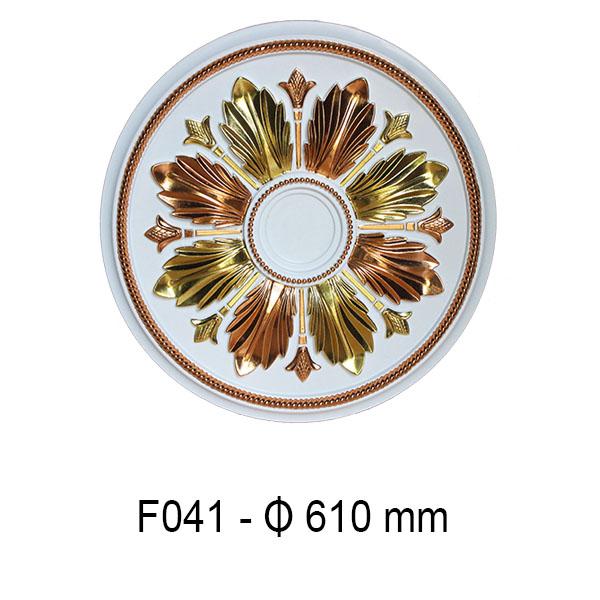 Hoa đèn dát vàng F041