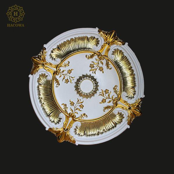 Hoa đèn dát vàng kết hợp 2 màu F023
