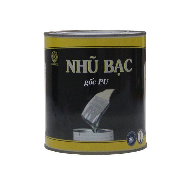 Nhũ bạc cao cấp 1kg (pha xăng)